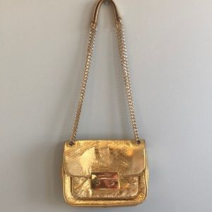 Limited Addition Michael Kors Gold Purse
